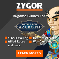 get to Max Level with Zygor!