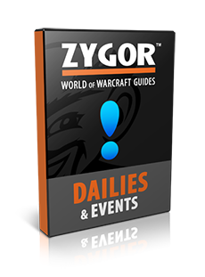 World of Warcraft Dailies & Events Guides