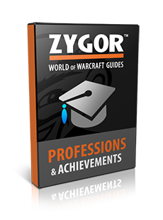 World of Warcraft Professions & Achievements Guide