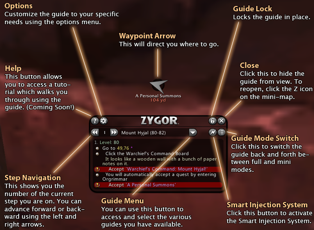 Zygor guides 6. 1 new guide menu youtube.